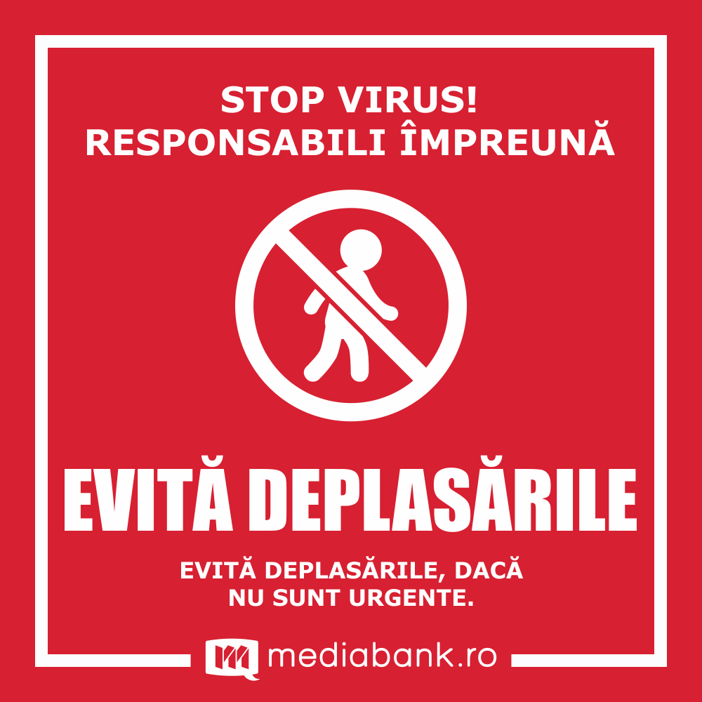 Evita Deplasarile Covid19