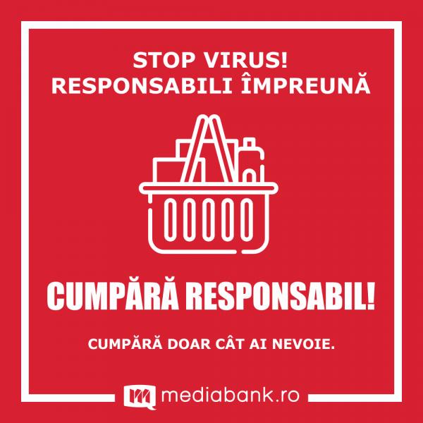 Cumpara Responsabil - Autocolant