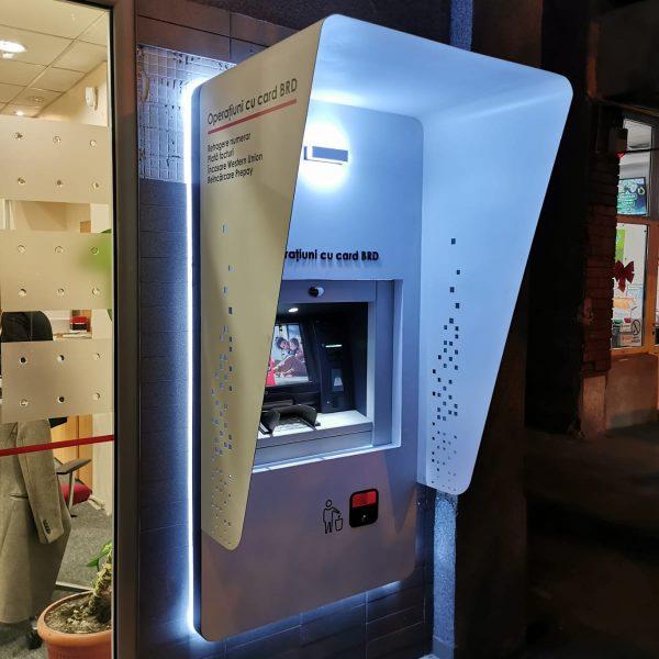 Copertină aluminiu ATM