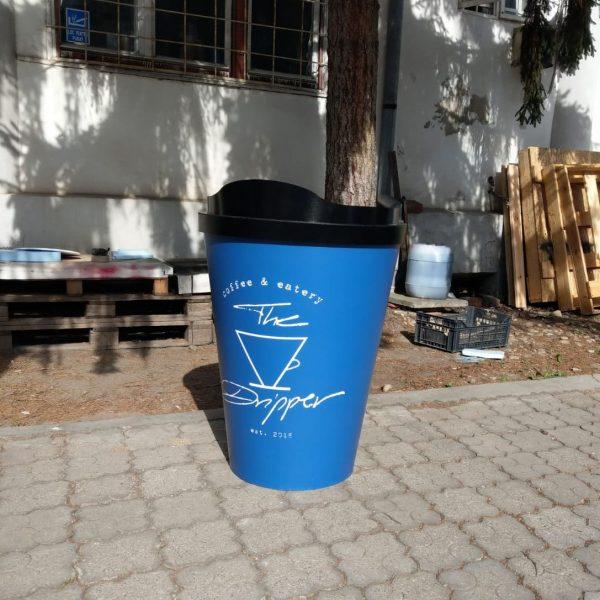 cos de gunoi forma pahar coffee 2go