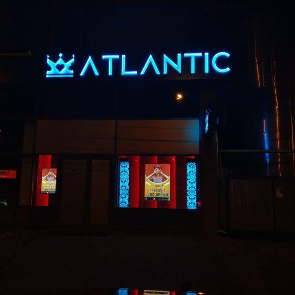 Litere volumetrice Swaroski by night - Casino