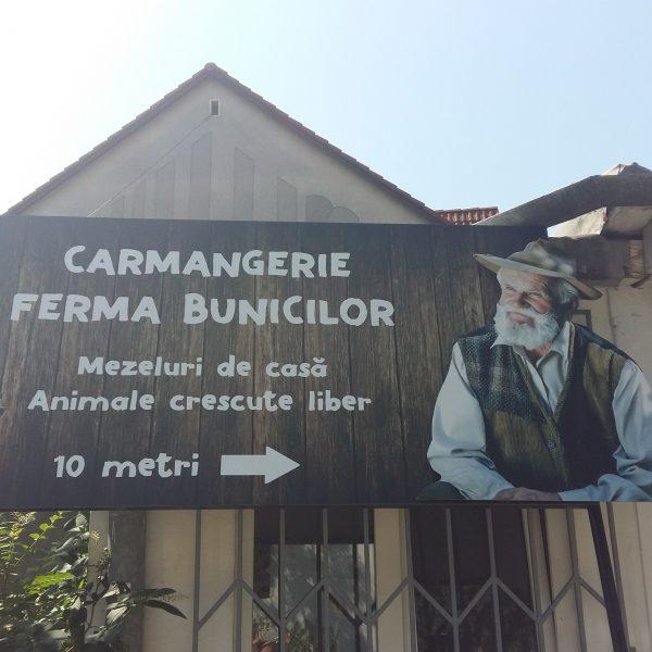 Reclamă Carmangerie - Panou de bond
