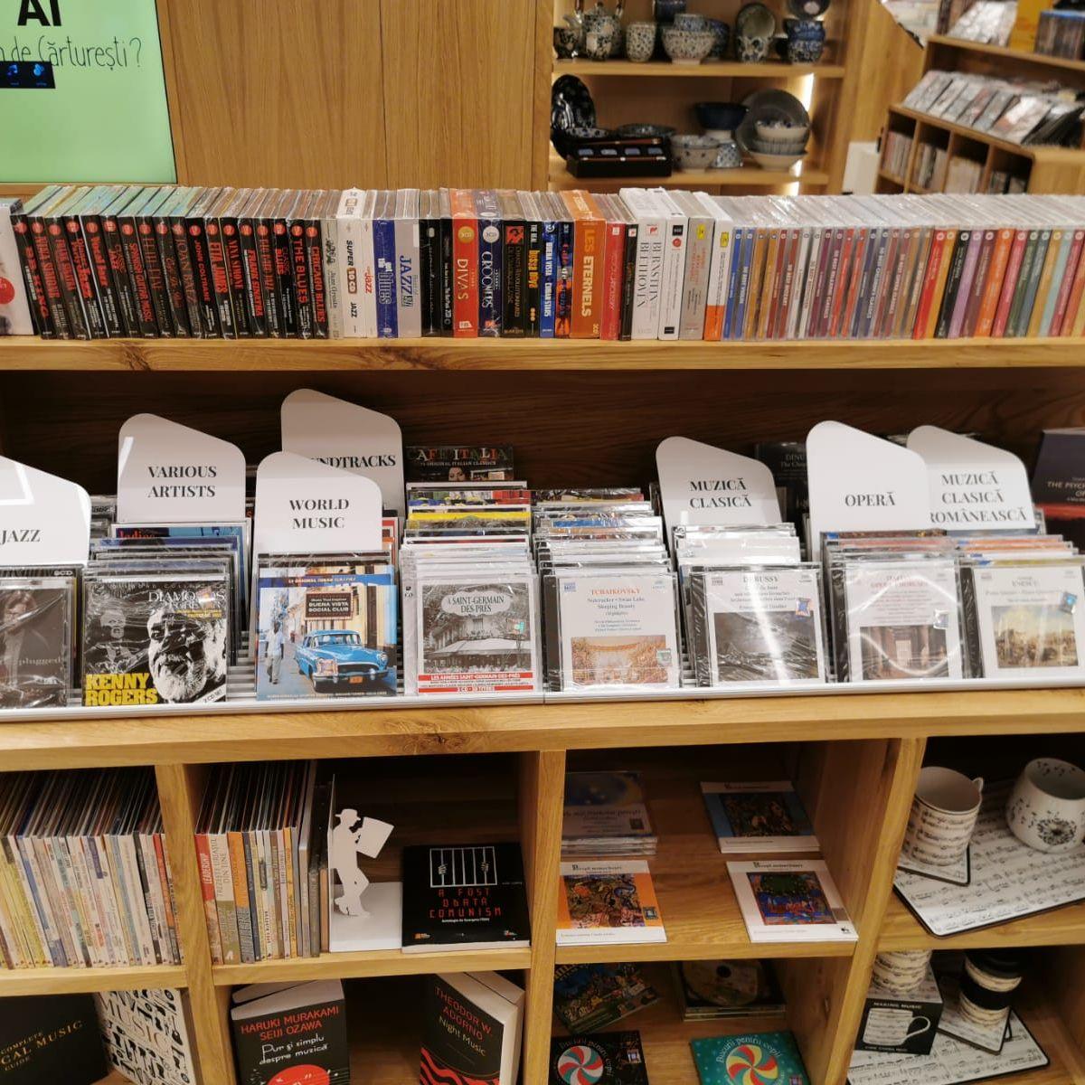 Despartitoare CD-DVD - front