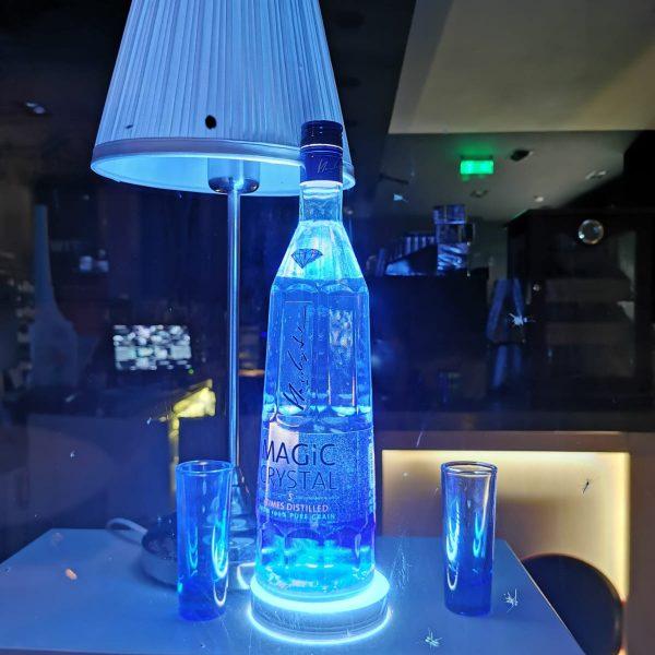 Iluminare sticlă băutură