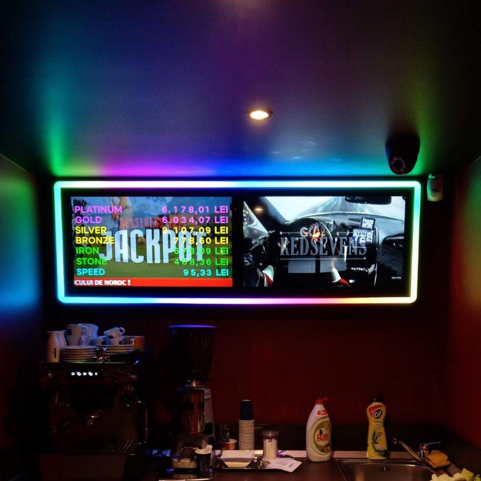 Ramă tv în Casino - front