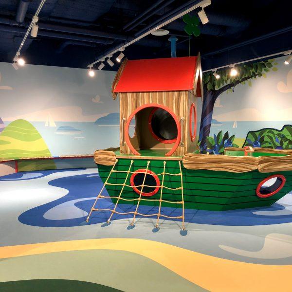 Mochetă personalizată sală de jocuri pentru copii