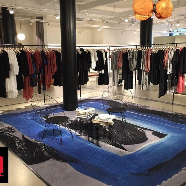 Covor personalizat magazin îmbrăcăminte
